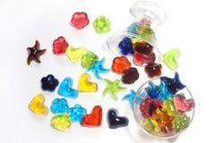 自创果冻的糖果 免版税库存照片