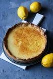 自创柠檬果子馅饼 库存照片