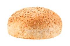 自创汉堡小圆面包 库存图片
