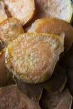 自创煮熟的白薯 免版税库存照片