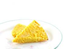 自创玉米面面包 图库摄影