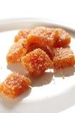 自创甜点 免版税库存图片