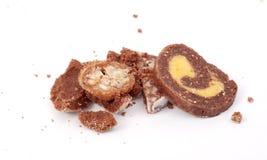 自创甜点 免版税库存照片