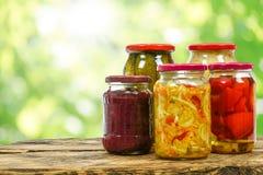 自创用卤汁泡的食物 库存照片