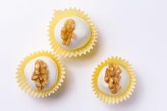 自创白色块菌状巧克力 叫作Camafeu在巴西 Fl 库存图片