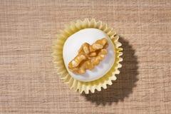 自创白色块菌状巧克力 叫作Camafeu在巴西 Fl 免版税库存照片