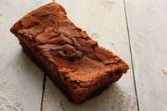 自创的巧克力蛋糕 免版税库存照片