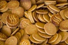 自创的曲奇饼 免版税库存图片