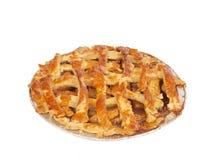 自创的苹果饼 免版税库存照片