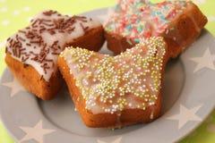 自创的蛋糕 免版税库存照片