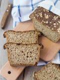 自创的面包 免版税库存图片