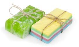 自创肥皂 免版税库存图片