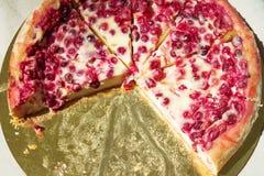 自创莓果饼 免版税库存图片