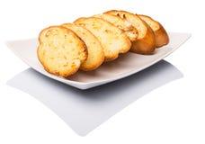 自创蒜味面包II 免版税库存照片