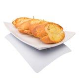 自创蒜味面包III 免版税库存图片
