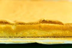 自创蛋糕板料 免版税库存照片