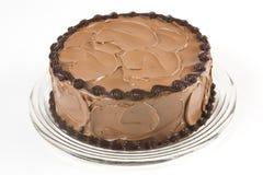 自创蛋糕的巧克力 免版税图库摄影