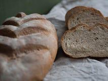 自创被烘烤的面包新近地 库存图片