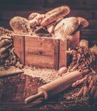 自创被烘烤的货物 免版税库存照片