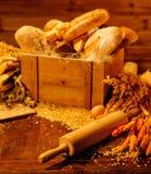 自创被烘烤的货物 库存图片