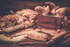 自创被烘烤的货物 免版税库存图片