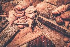 自创被烘烤的货物 图库摄影