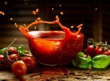 自创西红柿酱 图库摄影