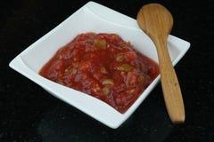 自创西红柿酱 免版税图库摄影