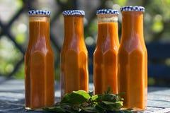 自创调味汁蕃茄 库存照片