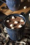 自创黑暗的热巧克力 免版税图库摄影