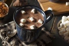 自创黑暗的热巧克力 库存图片