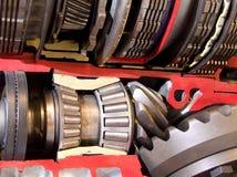 自动传输齿轮和滚珠轴承 库存照片