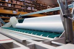 自动削减详细资料纺织品万维网 免版税库存照片