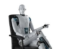 自动化工作者概念 皇族释放例证