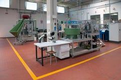 自动化工厂现代工厂 免版税图库摄影