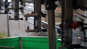 自动化的制造的线 股票视频
