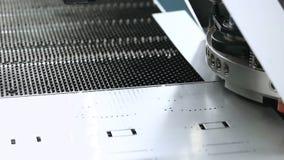 自动化的机器 CNC机器在工作 影视素材