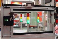 自动化的机械生产 库存照片