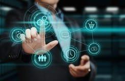 自动化软件技术过程系统企业概念 库存图片