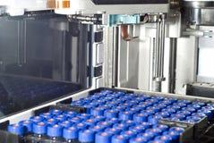 自动取样器高性能液体色谱 免版税库存图片