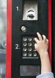 自动售货机拨号 免版税库存照片