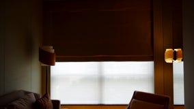 自动在公寓的帷幕室内装璜 股票录像