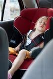 自动小儿童位子休眠 库存图片