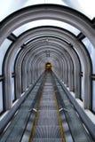 自动扶梯被采取在梅田天空大厦 免版税库存照片