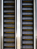 自动扶梯运动 免版税图库摄影