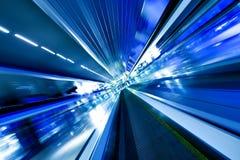 自动扶梯高移动速度 库存图片