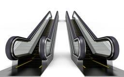 自动扶梯 向量例证