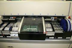 自动拾取放置的机器 图库摄影