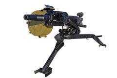 自动枪榴弹发射器 库存照片
