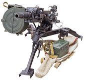 自动枪榴弹发射器AGS-17 库存照片
